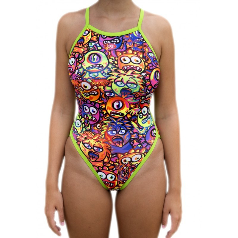 Bañador DS Chica TF Monsters