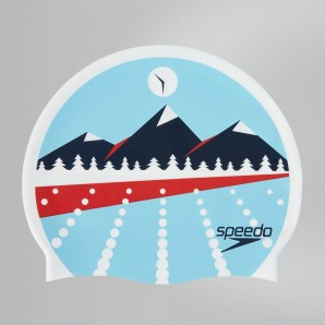 Gorro Speedo Slogan Mountain