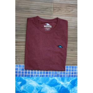 Camiseta Wime Pure Burgundy